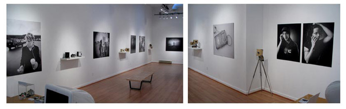 The Box Camera exhibition at Deluge Contemporary art gallery